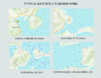 ( C ) Easterly Comparison