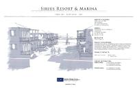 ConceptualDesign_SiriusResortMarina_T-Rex_JDG