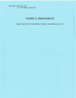 Exhibit 4, Attachment E