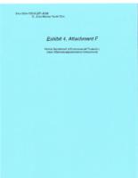 Exhibit 4, Attachment F – Part 1