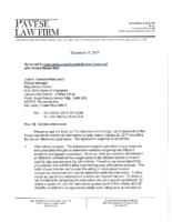 SAJ-2004-12518 (SP-JCM) – Response to RAI. Letter. 12 15 2017